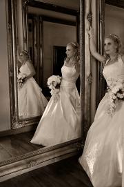 De bruid en spiegels