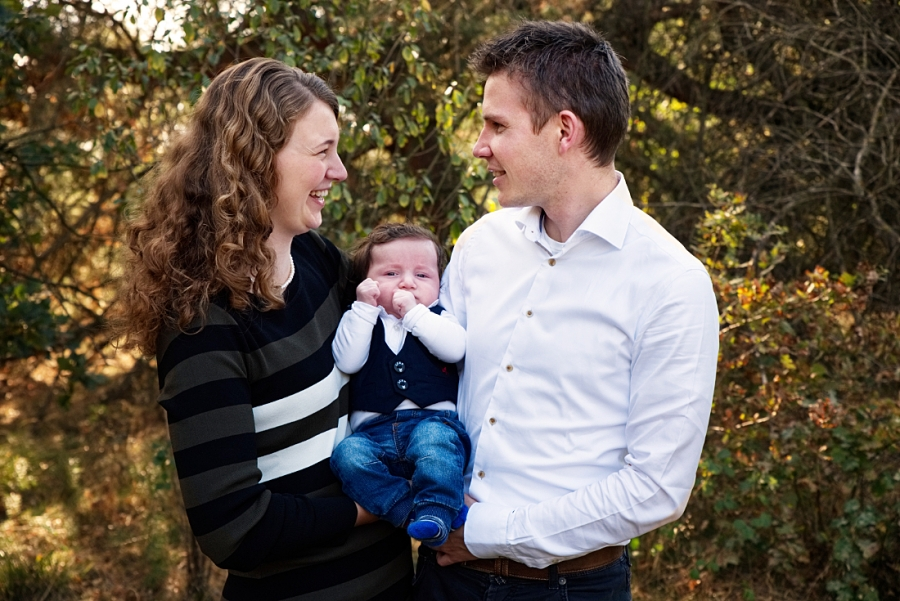 Ontspannen familie fotoshoot midden-Limburg