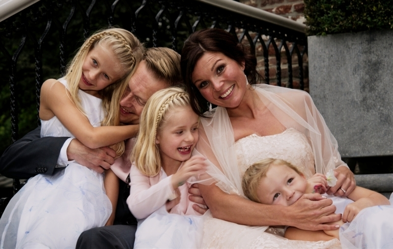 Lieve bruidsfotografie