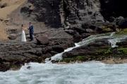 Bruidspaar in Pucusana