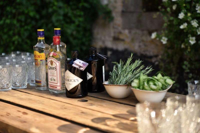 De gin-tonic tafel
