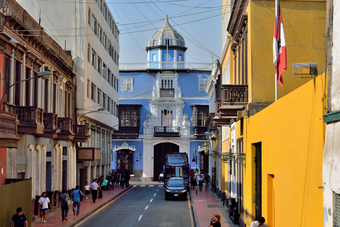 City tour in Lima, Peru