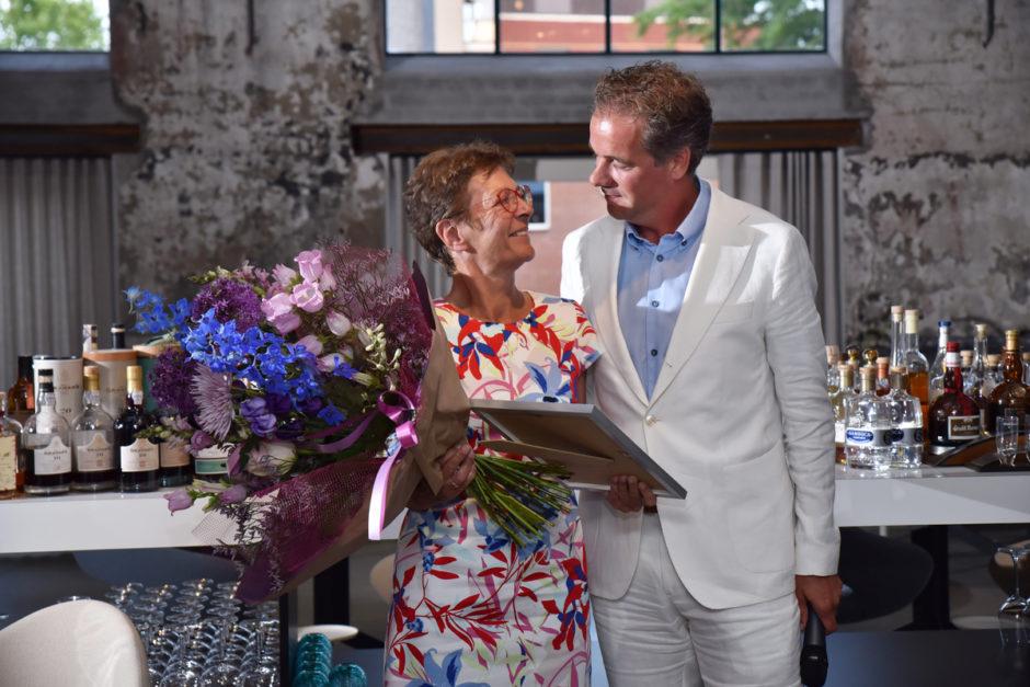 Maandag 24 juni ontving Rosalie Theunissen tijdens het Slotdiner van Tour Culinair in Restaurant One* in Roermond de Klasbak Trofee 2019.