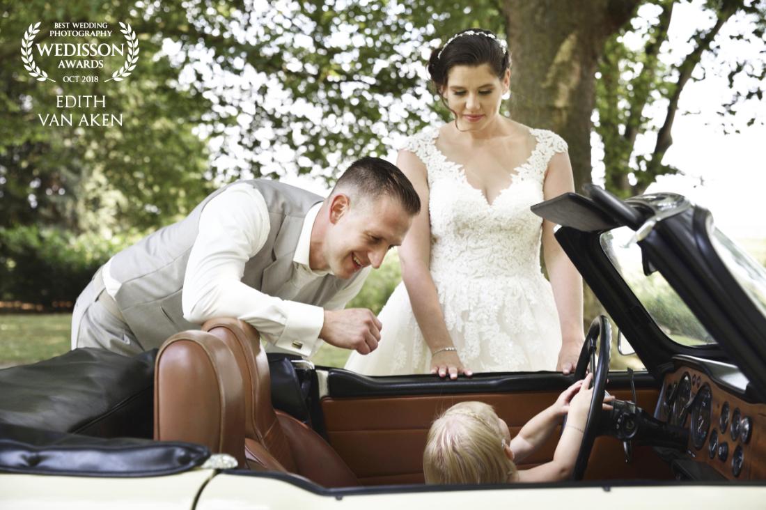Award winnende foto van een bruidspaar dat trouwde in Roermond, bij Het Oolderhof.